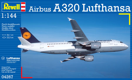 Revell Kit - Airbus A320 Lufthansa