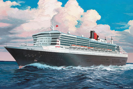 Revell Kit - Ocean Liner Queen Mary 2