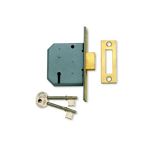 Union 2177 Mortice Dead Lock - 2.5'