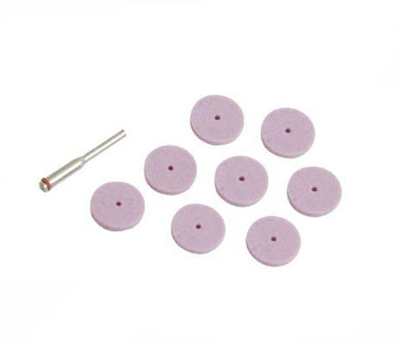 Hobby Tool Accesories - 8 Piece - Aluminium Oxide Grinding Disc