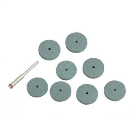 Hobby Tool Accesories - 8 Piece - Grinding Disc Set
