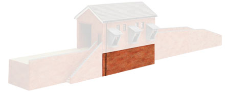 Hornby - Coal Drop Shed Base - R8735