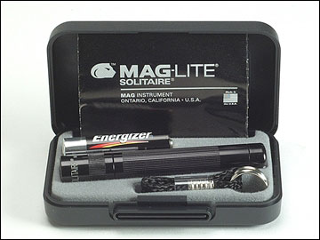 Mini MagLite - AAA Solitaire Torch Boxed