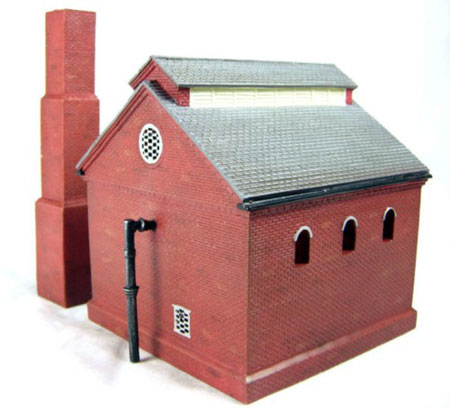 Hornby - Retort House With Chimney - R8738
