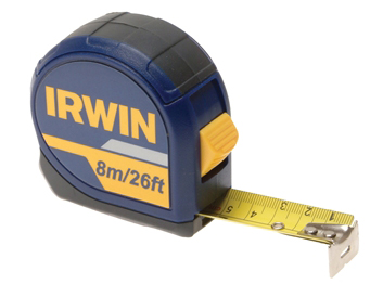 Irwin Standard Pocket Tape 8m/26ft bulk