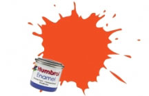 Humbrol Model Paint - 1322 - Clear Colour Orange