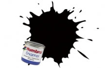 Humbrol Model Paint - 201 - Metallic Black