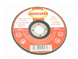 Cut Off Disc for Metal 115 x 1.2 x 22mm