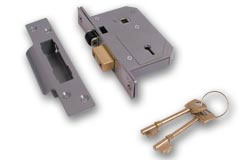 Chubb 3K74E BS Sashlock PB 80mm (3')