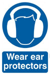 Ear Protector Safety Sign