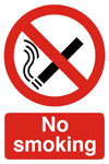 No Smoking Prohibition Sign